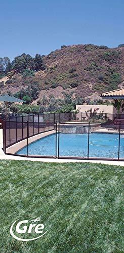 Gre SF133 Sicherheitszaun für Pool, 1,33 m hoch