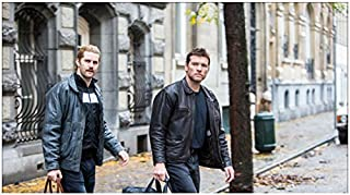 Kidnapping Mr. Heineken Jim Sturgess as Cor Van Hout and Sam Worthington as Willem Holleeder walking 8 x 10 Inch Photo