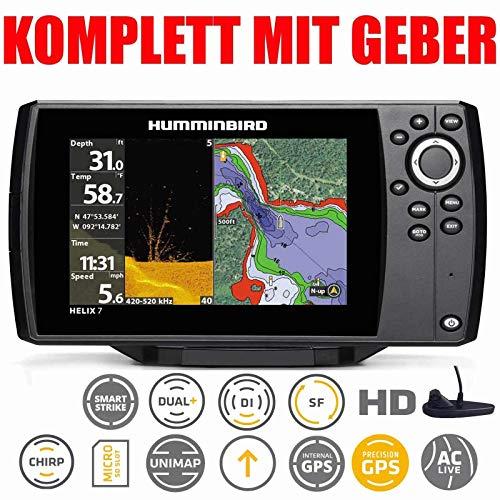 Humminbird Helix 7 Chirp Mega DI GPS G3Echolot Fishfinder D