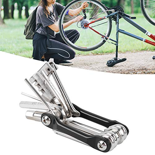 T25 Star Wrench Mini Bike Kit Tool, 11-in-1 Universal Plegable Kit de...