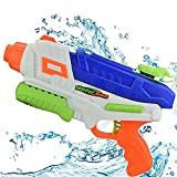 Mioshor Water Squirt Gun for Kids/Adults,Long Range Super Soaker Blaster Cannon Guns Pool Toy for Summer Party Shooter,Water Pistol Toy for Cat/Dog Training (Navy Blue)
