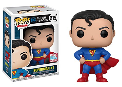 Funko Pop! Heroes: DC Super Heroes - Superman #1 (NYCC 2017 Exclusive) #215 - 20179