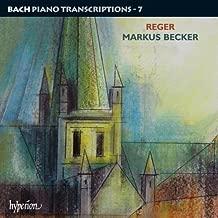 Reger: Bach Piano Transcriptions