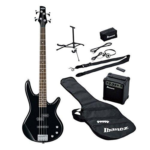 Ibanez ijsr190e-bk bajo eléctrico Guitarra Starter Pack: Amazon.es ...
