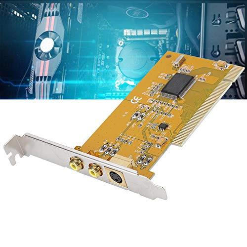 Shipenophy Tarjeta HD Plug and Play Tarjeta de Captura Suave y Clara Tarjeta de Video Estable y confiable Tarjeta de adquisición de Datos ininterrumpida para computadora para PC