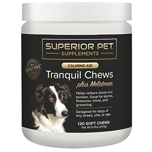 Superior Aid Calming Pet Plus Melatonin
