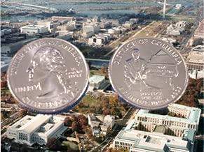 2009 Washington DC Quarter D Mint BU Business Strike Coin
