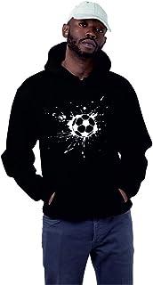 INDIRAGE Football Half Sleeve Hoodie