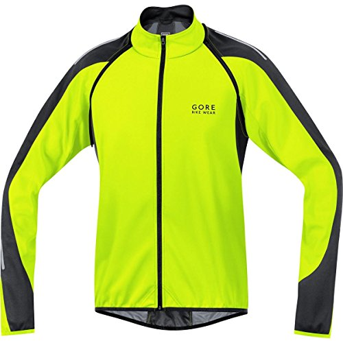 Gore  Bike Wear Phantom 2.0 Windstopper Soft Shell - Chaqueta 3 en 1 para Ciclista de Carretera, Hombre