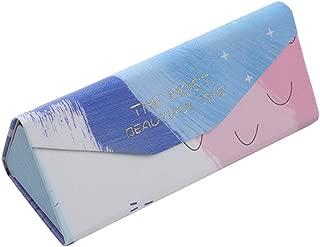 Doitsa Funda con Gafas Plegable de Viaje r/ígida Fantas/ía Tri/ángulo Caja de Gafas 16 * 6.8 * 6.5cm Papel 16/* 6.8/* 6.5/cm A1