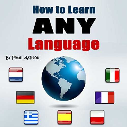 How to Learn Any Language audiobook cover art