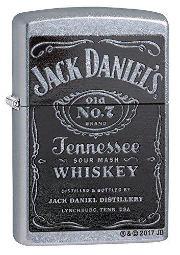 Zippo Jack Daniel 's Label Regular aansteker