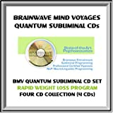 Rapid Weight Loss Program, Permanent Weight Reduction Management & Dieting BMV Quantum Subliminal 4 CD Set with Brainwave Entrainment Technology & NLP (4 SUBLIMINAL CDs: Weight Loss, Healthy Eating Habits, Low Carb Diet Aid, Love to Exercise)
