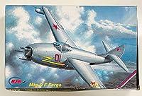 未組立品 MPM 1/72 ミグ Mig-9 F Fargo ファーゴ エッチングパーツ付き 戦闘機 ソビエト ソ連 ロシア ジェット戦闘機 プラモデル