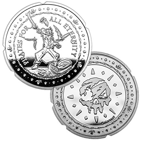 Sea of Thieves Collectable Coin Pirates For All Eternity (Silver Plated) Iron