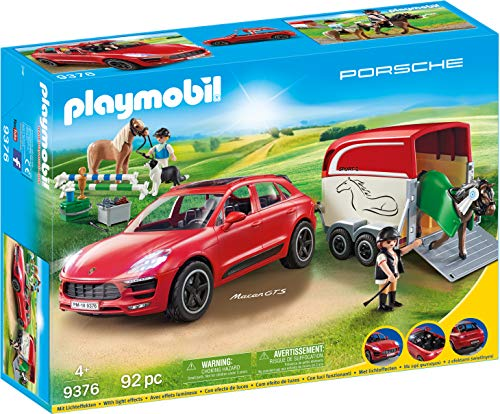 PLAYMOBIL Sports & Action Porsche Macan GTS con Efectos