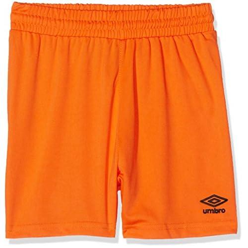Umbro King Jnr Pantaloni da calcio Bambino, Arancione (Orange 800), 110-122 cm