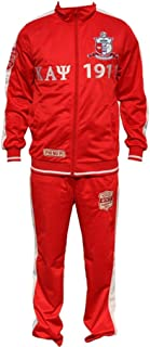 Kappa Alpha Psi Men's Jogging Suit Medium Crimson Red