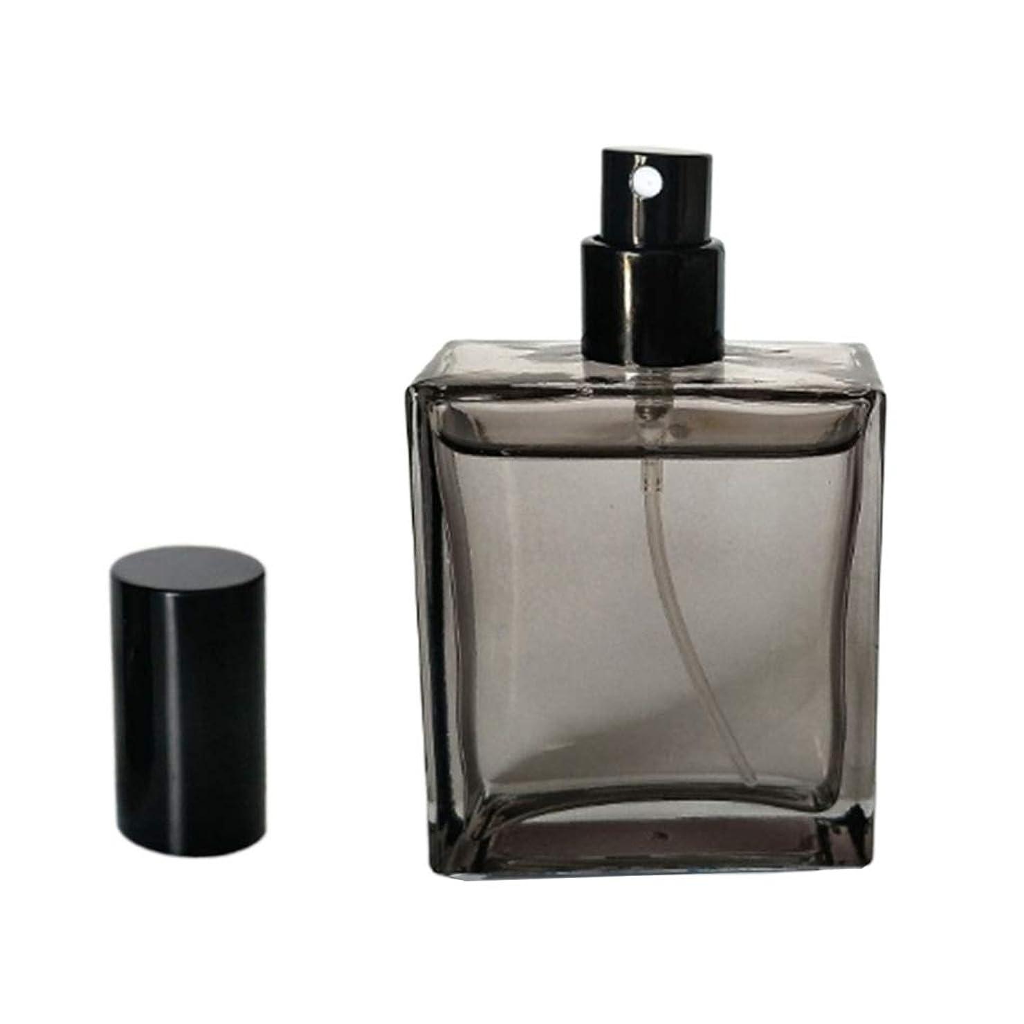 外交毒性ログ50ML スプレーボトル 香水アトマイザー 空のボトル 詰め替え 旅行 通勤 外出 会議 携帯用 ガラス製
