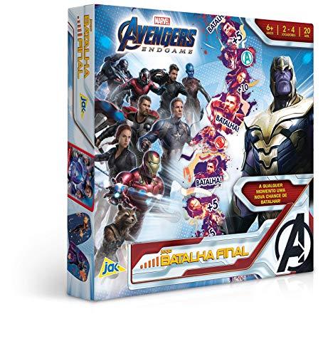 Vingadores Ultimato - Jogo Batalha Final, Toyster Brinquedos, Multicor
