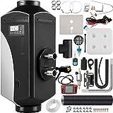 VEVOR Calentador de Aire Diesel 12 V 5 kW Calefacción Estacionaria Diesel -40 °C - +50 °C Calentador de Estacionamiento Diesel Calefacción Estática Furgoneta Diesel Calentador Coche, con Pantalla LCD