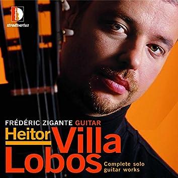 Villa-Lobos: Complete Solo Guitar Works