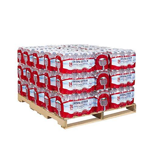 Crystal Geyser Alpine Spring Water, 16.9 oz Bottle, 24/Case, 42 Cases / Half Pallet total 1008 Bottles