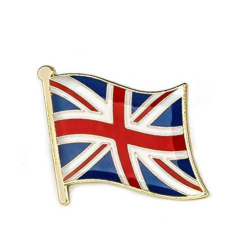 Patch Nation Pin de Metal con la Bandera de Reino Unido