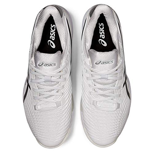 Product Image 5: ASICS Men's Solution Speed FF 2 Tennis Shoes, 10.5, White/Black