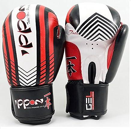 Ippon Boxhandschuhe Maya Leder Gel Boxhandschuhe Kampf Boxsack Boxsack Boxsack MMA Muay Thai Grappling Pad B010G7SQBG   | Niedriger Preis  9b12d7