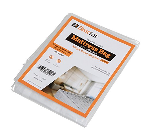 Sacco materasso per riporre – striscia di tenuta – 200 g – King Size e Super King Size – 254 x 198 x 37 cm