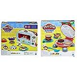 Play-Doh Horno Magico (Hasbro B9740EU4) + La Barbacoa (Hasbro B5521EU7) , Color/Modelo Surtido