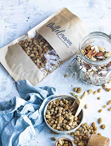 Bio Maulbeeren Hell 500g | Superfood | 100% Natürlich & Gesund | Vegan | Premium Qualität | Palmyra Delights