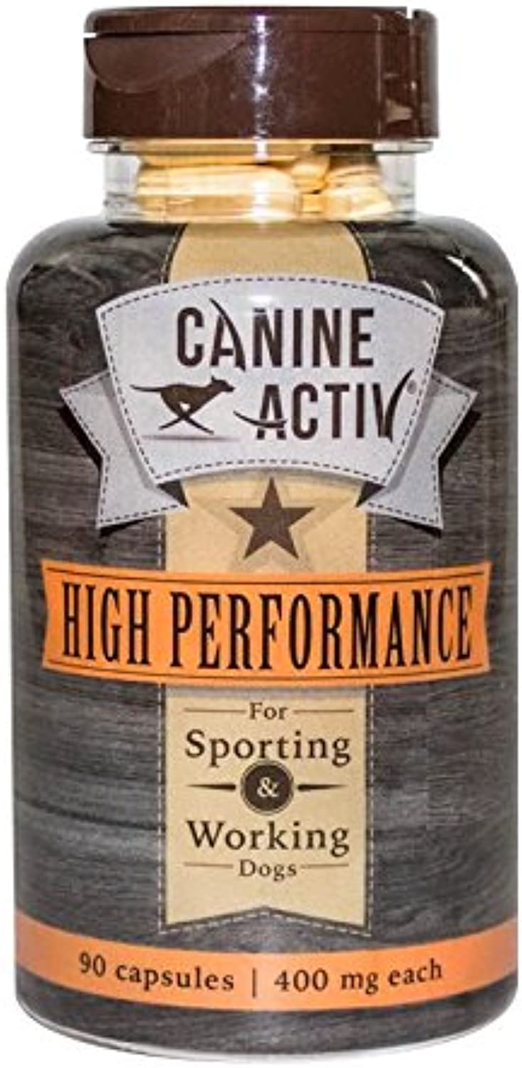 CanineActiv High Performance Bottle (90 Capsules)  Sporting, Hunting & Working Dogs
