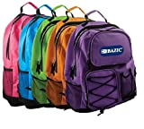 BAZIC Odyssey Bright Color Backpack, 17 Inch, Color May Vary