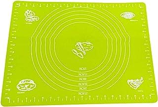 Rekkles Silicone Baking Mat Farine Tapis Roulant de roulement échelle pâtisserie antiadhésive Mat pétrir la pâte Tapis de ...