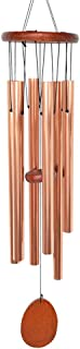 BLESSEDLAND Wind Chimes, 6 Hollow Aluminum Tubes Tuned 35.5'' Music Wind Chime with S Hook for Indoor and Outdoor