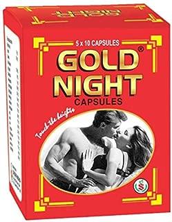 Surjichem Gold Night Capsules for Strength Stamina & Power (5X10Capsules)