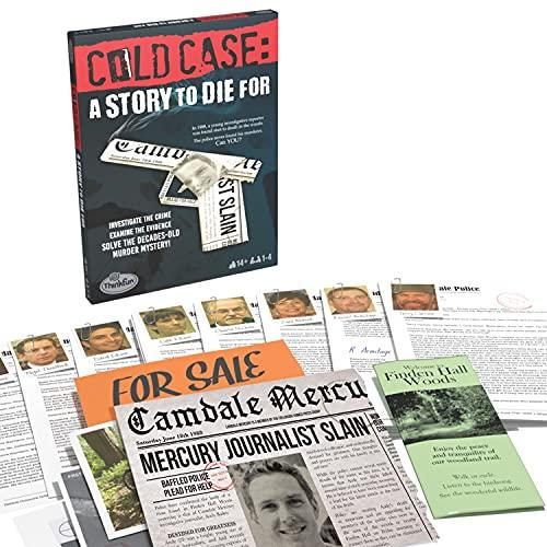 Thinkfun Cold Case Files - Una Historia para Morir - Juego de Misterio de Asesinato para Adultos y niños a Partir de 14 años