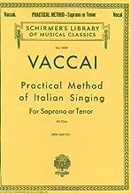 Best vaccai practical method of italian singing Reviews