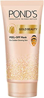 Pond's Gold Beauty Peel Off Mask, Healthy Golden Glow in Just 15 min, 80 g