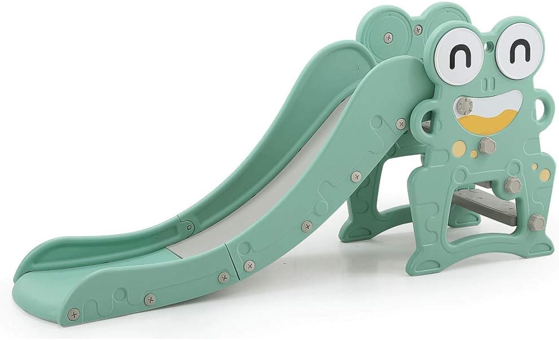 descuento de ventas en línea BO LU Diapositiva para Niños Juegos De Jardín Jardín Jardín Interiores Y Exteriores área De Juegos Plástico Almacenamiento Plegable,verde  diseño único