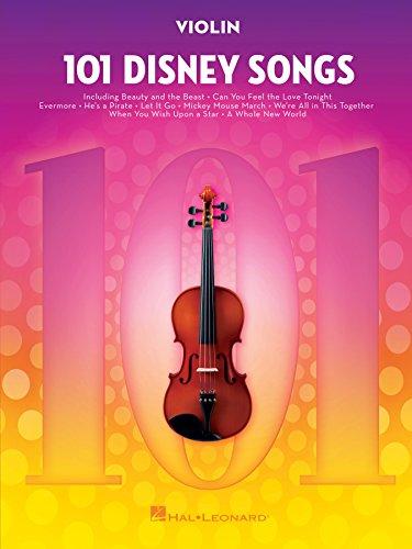 101 Disney Songs for Violin (English Edition)