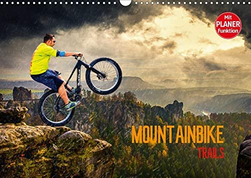 Beauty products Mountainbike Trails Wandkalender 2021 DIN A3 quer Minneapolis Mall
