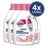 Sagrotan Wäsche-Hygienespüler Sensitiv – Desinfektionsspüler für hygienisch saubere und frische