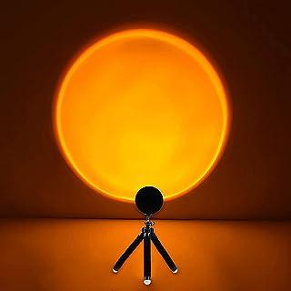 Sunset Lamp, Sunset Projection Light,Rainbow Projection Lamp Led 360 Degree Rotation Projection Led Night Light/for Photog...