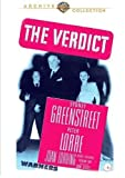 The Verdict (1946) by Sydney Greenstreet, George Coulouris Peter Lorre