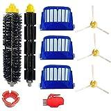 De Galen Piezas de repuesto accesorio accesorio para Irobot fit para Roomba 600 Series Aspiradora Kit de piezas de repuesto Accesorios de vacío