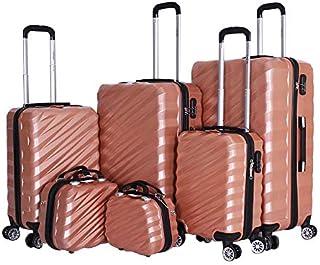 كابيتال حقيبة عربة للاطفال 6 قطع، مع قفل 3 قطع