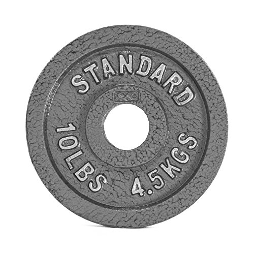 CAP Barbell Olympic 2-Inch Weight Plates, Gray, Single, 2.5 Pound